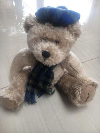 Boneka Teddy Shall Biru