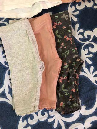 Mothercare leggings and tshirts