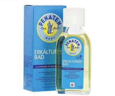 Penaten 嬰兒感冒沐浴油