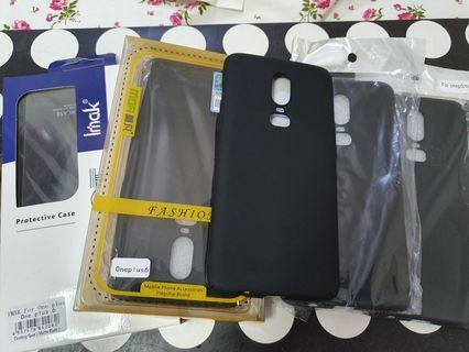 Oneplus 6 Casing(5pc) + Screen Protector + Socket Ring Stand