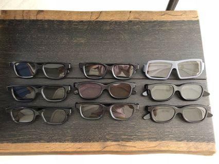3D 電影眼鏡 Glasses 👓 for 3D movies