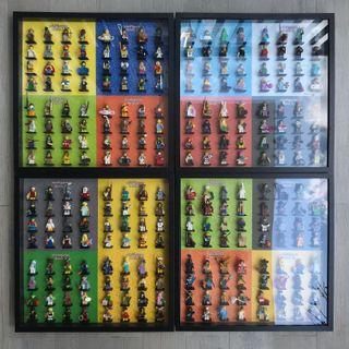Ultra Rare Collection: LEGO Minifigures Series 1-16, Full Sets