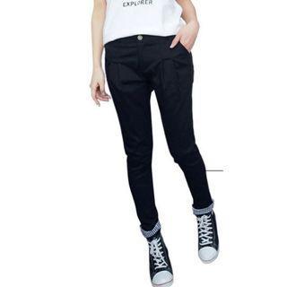 (PRE-LOVED) Plus Size 3X Classic Black Premium Tailored Skinny OL Pants