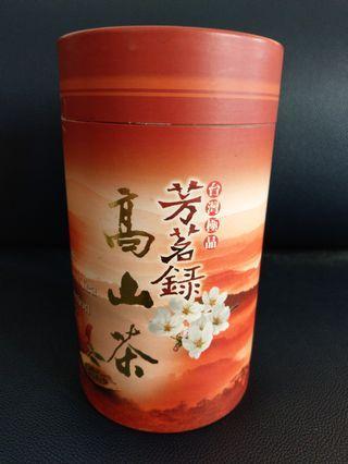台灣高山茶茶葉