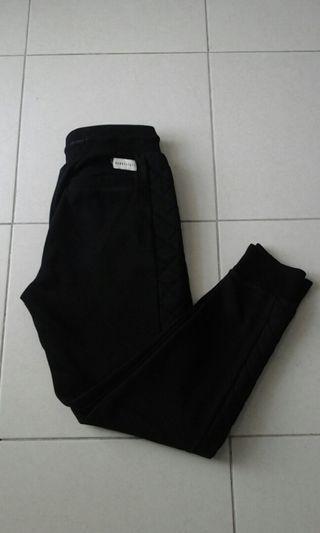 Original Nanny State Black Jogger Pants Medium