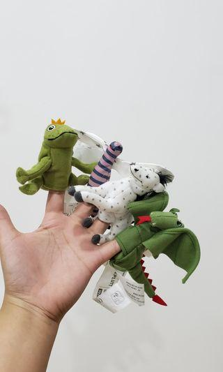 !RUSH SALE! IKEA Finger Puppets