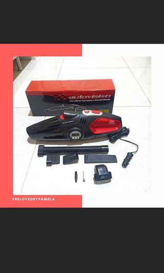 Autovision 4 in 1 vacuum cleaner, isi angin ban dll [BARU]
