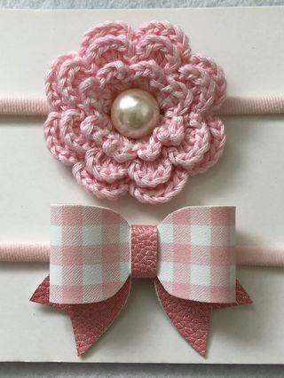 Baby Nylon Headband Set B
