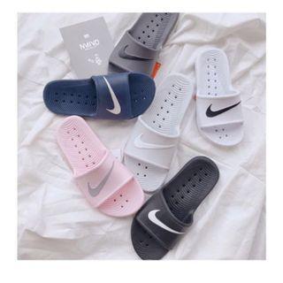 🚚 Nike防水拖鞋 黑色
