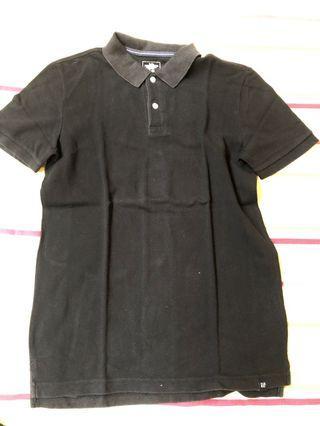 Polo shirt hitam GAP