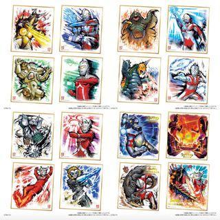 [訂貨] Ultraman Skihiski 1 鹹蛋超人/ 鹹旦超人/ 力霸王/超人色紙 Art 1 原盒