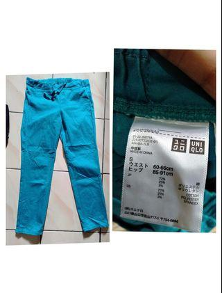 Uniqlo cropped pants