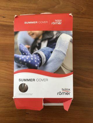 🚚 Britax Römer Dualfix Summer Cover - Biege