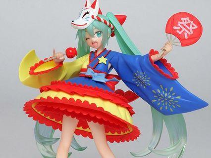 Hatsune Miku Summer Festival special figurine