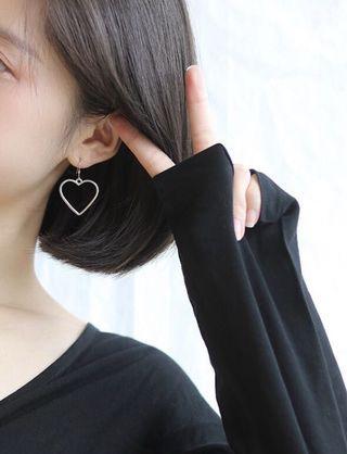 🚚 愛心耳夾