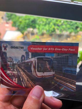 Bangkok Sky Train (BTS) one day pass ticket