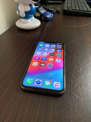 USED UNIT ORIGINALAPPLE IPHONE X 256GB MYSET FACE ID NOT WORKING
