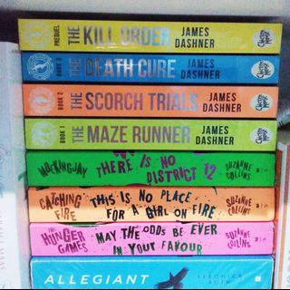 The maze runner the scorch trials the death cure the kill order boxset