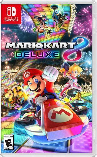 Switch Mario kart 8