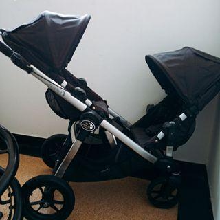 🚚 Babyjogger city select 雙人推車