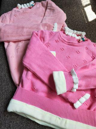 🆕 BNIB Children's knitted top with inner fleece lining!