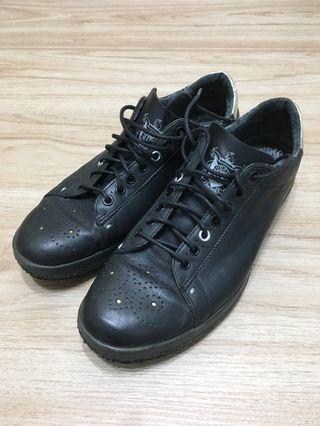 🚚 出清!Paul Smith 黑色皮革休閒鞋US9