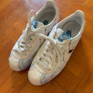100%real Eur36.5 日本購入 櫻花 保齡球鞋 波鞋 鞋 日系 white blue sneaker sneakers shoes shoe us6 uk3.5 23cm 36 37