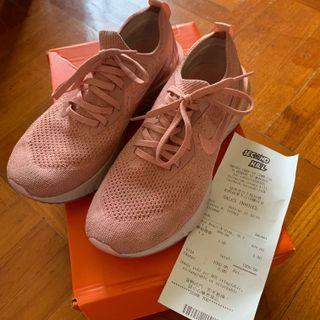 100%real Eur38.5 偏細 超罕有 絕版 Youtuber推介 Nike Epic React Flyknit UK5 24.5cm pink orange 粉紅 粉色 橙色 粉橙 38 39