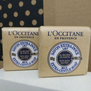 L'occitane Shea Butter Extra Gentle Soap x 2