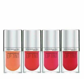 Maybelline Color Sensational Lip Tint 4.5ml [6 Colors To Choose]