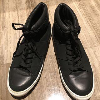 COS high top sneakers