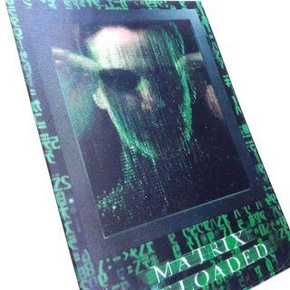 Matrix Reloaded postcard