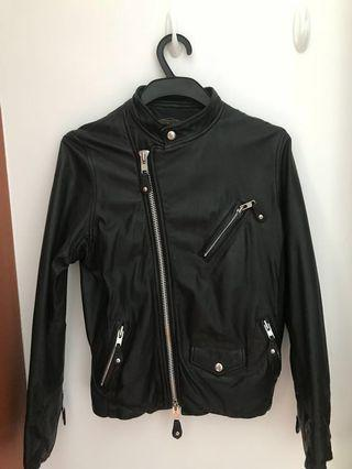 REAL LEATHER JACKET (Japan made)