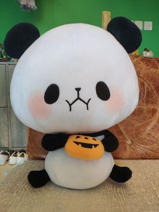 麻糬熊貓公仔 日本景品 萬聖節特別版
