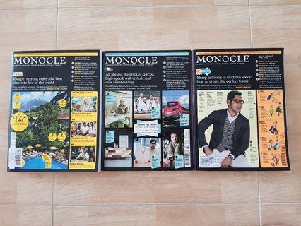 Monocle Magazine 2014