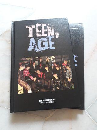 [WTS] Seventeen Teen Age RS Ver.
