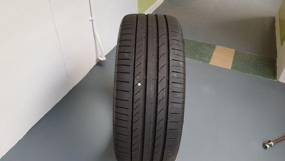 Continental tyre (one piece only)