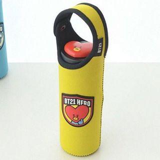 BT21 official bottle cover pouch BTS