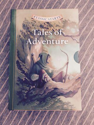 Tales of Adventure 全套五本 英文小說