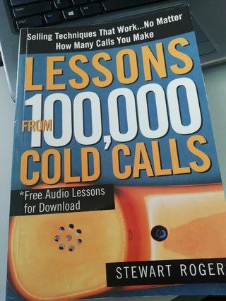 Lessons from 100000 cold calls Book
