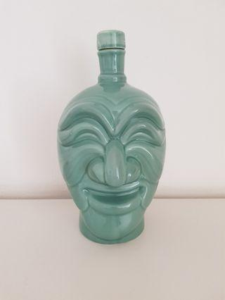 Andong soju empty liquor porcelain bottle