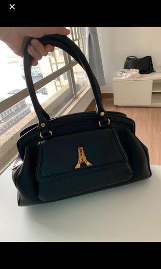 Andre ross handbag 手袋100%真 real 95% new 新 黑色