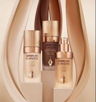 ✨ Charlotte Tilbury ✨ Airbrush Flawless Foundation ✨ Out Soon   WhatsApp 64672852 or DM us anytime