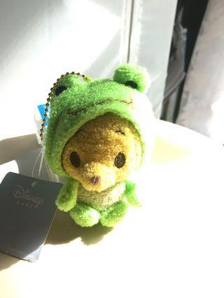 Winnie the Pooh毛公仔鎖匙扣