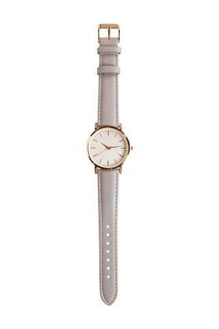 Decjuba Grey and Rose Gold Watch Stainless Steel Minimalist Classy