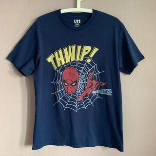 Vintage Uniqlo Marvel Spiderman tee vtg shirt