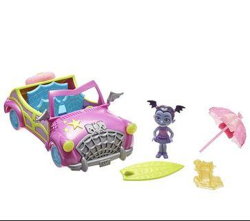 *instock*  Vampirina Bootastic Beach Buggy Dolls, Purple