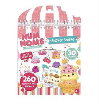 *instock* Num Noms Sticker Shoppe Activity Set