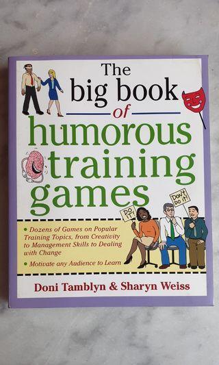 Buku Impor The Big Book of Humorous Training Games (Pre-Owned)