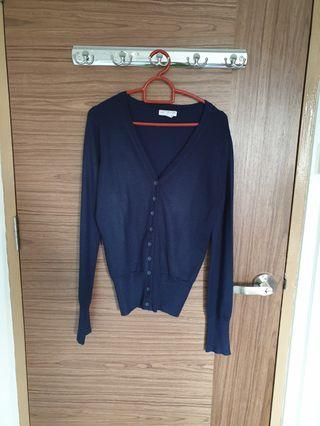 Cotton On Navy Blue Cardigan